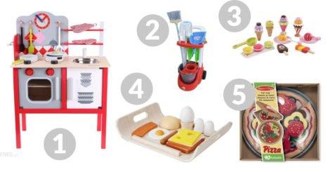 zabawki kuchenne dla maluchów