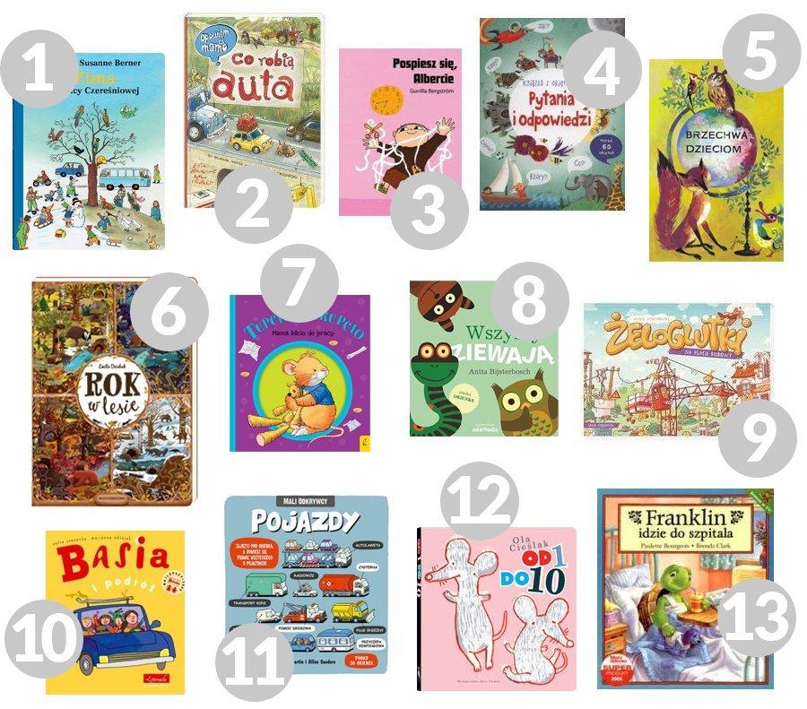 książki dla małego dziecka