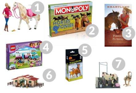 zabawki dla dziewczynek kochających konie