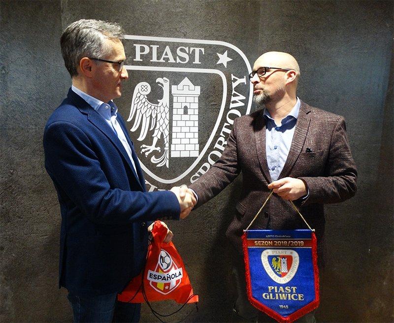 Piast Gliwice i Espanola podpisują współpracę