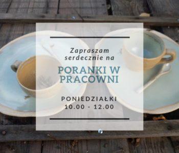 Poranki z ceramiką