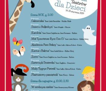 Festiwal Teatrów dla Dzieci Kraków 2019
