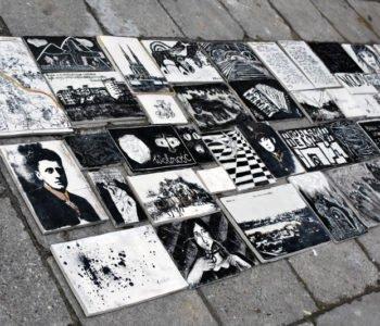 Otwarcie mozaiki ceramicznej Sto Stanów Wolności