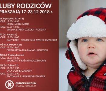 Klub Rodziców w Ośrodku Kultury Kraków-Nowa Huta