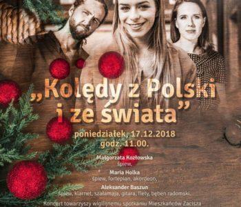 Kolędy z Polski i ze świata w DK Zacisze
