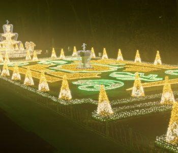 Mikołajki w Królewskim Ogrodzie Światła
