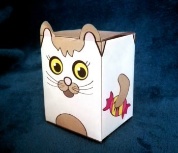 pudełko do samodzielnego złożenia