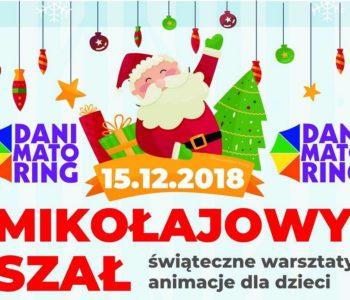Mikołajowy Szał – świąteczne warsztaty i animacje dla dzieci