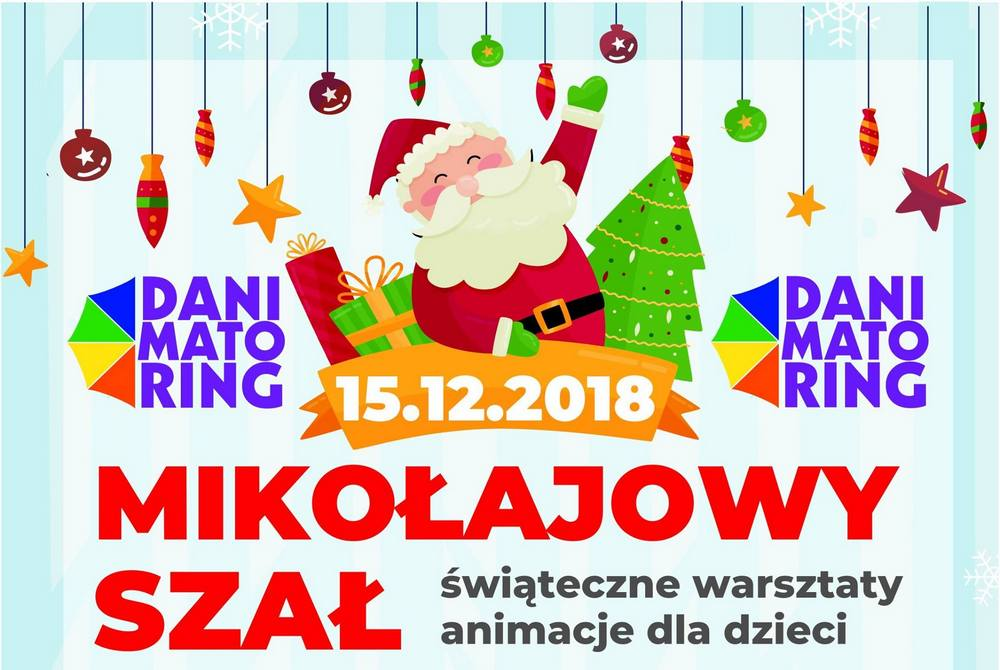 Mikołajowy Szał - świąteczne warsztaty i animacje dla dzieci