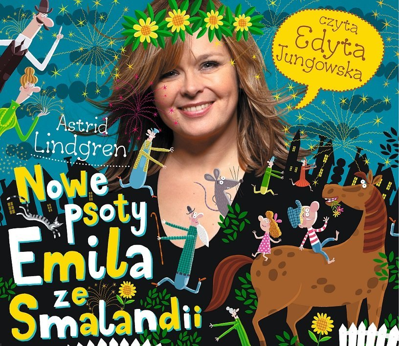 Nowe psoty Emila ze Smalandii - audiobook