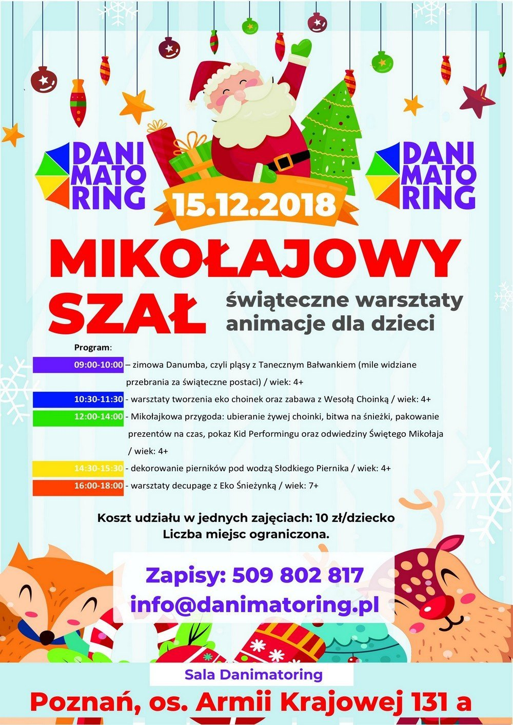 plakat Mikołajowy 2018 3