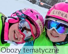 Zimowe obozy dla dzieci i młodzieży