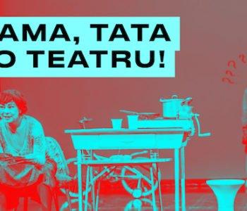 Czym w teatrze zajmuje się reżyser? Warsztaty Mały reżyser w ramach cyklu Mama, tata do teatru w TR Warszawa