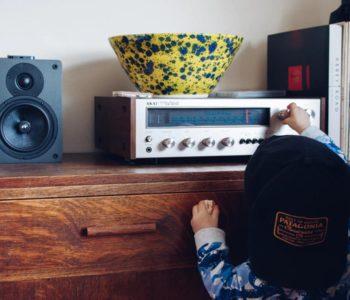 dziecko i radio
