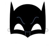 szablon maska batmana