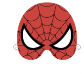 maska Spiderman szablon do druku