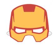 Iron Man - maska do druku