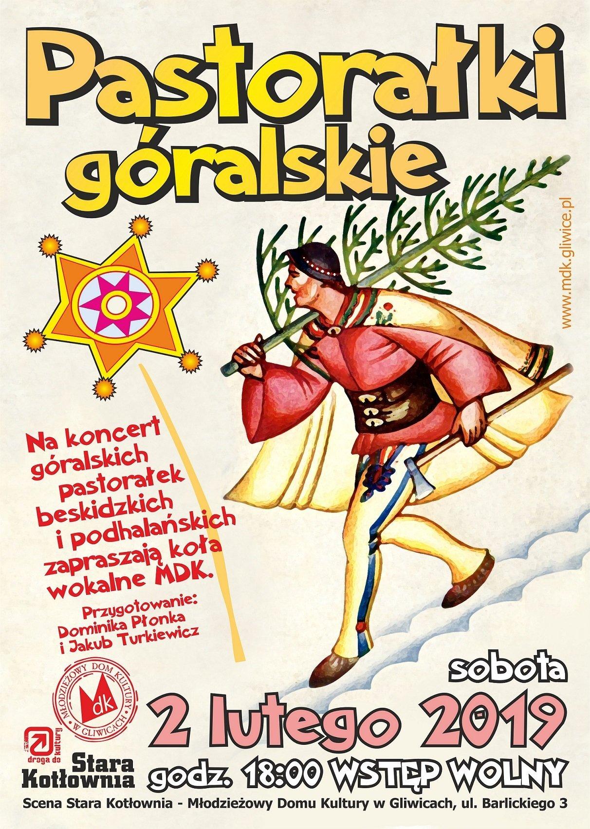 Pastorałki góralskie - koncert w Gliwicach