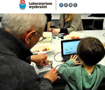 Kto, kogo, czego nauczy? Rodzinna przygoda z robotyką w Laboratorium Wyobraźni