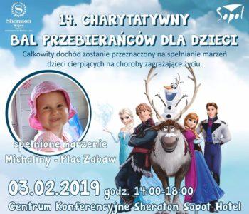 14 Charytatywny Bal Przebierańców dla Dzieci