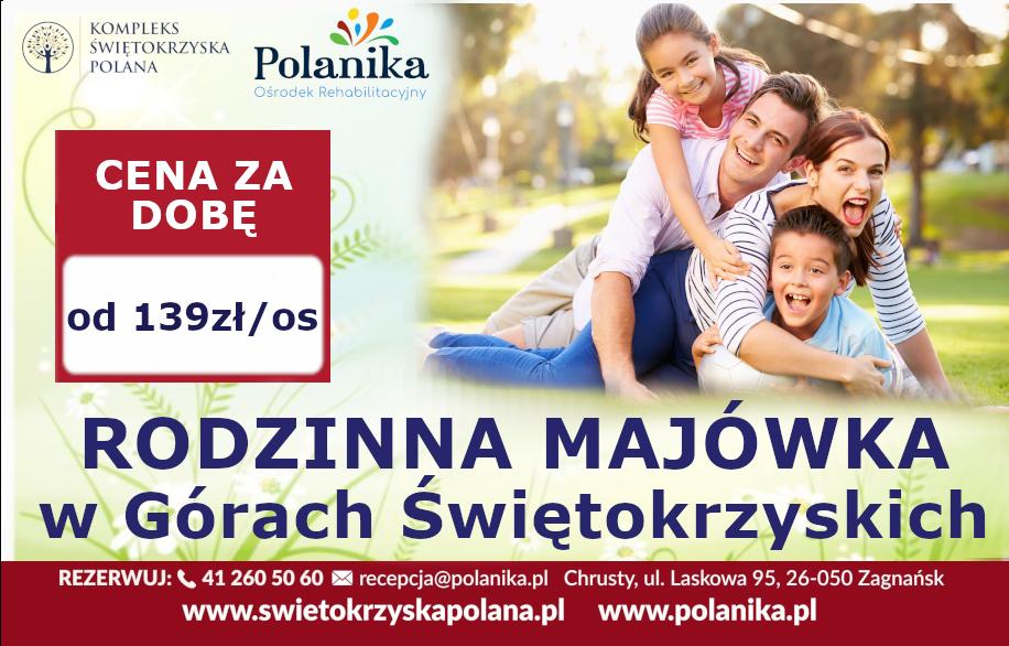 Rodzinna Majówka w Górach Świętokrzyskich