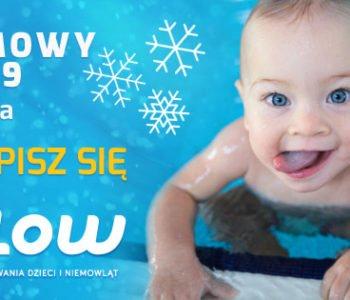 Kurs oswajania z wodą i nauki pływania dla niemowląt