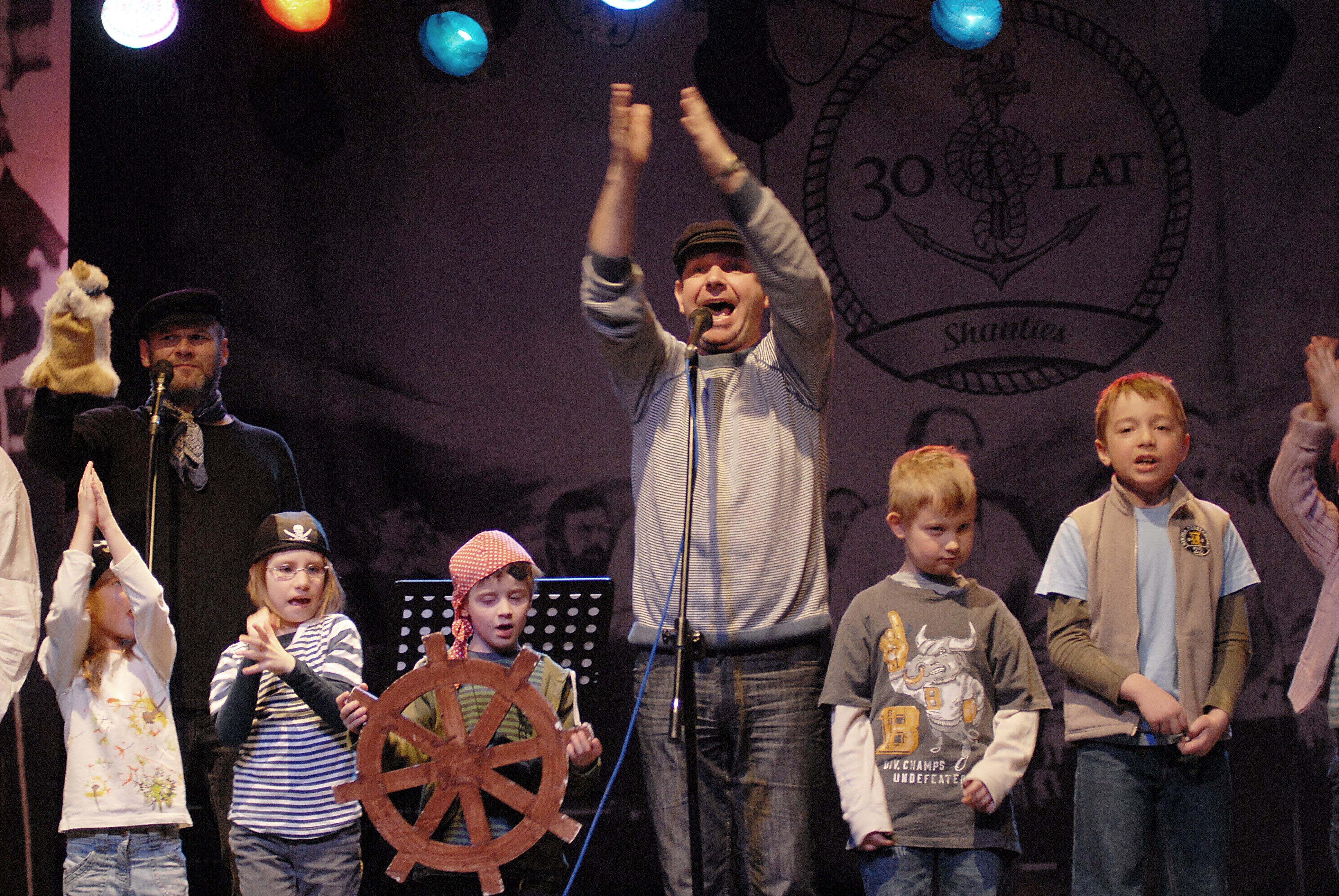 Widowisko żeglarskie dla dzieci - Kurs na przygodę