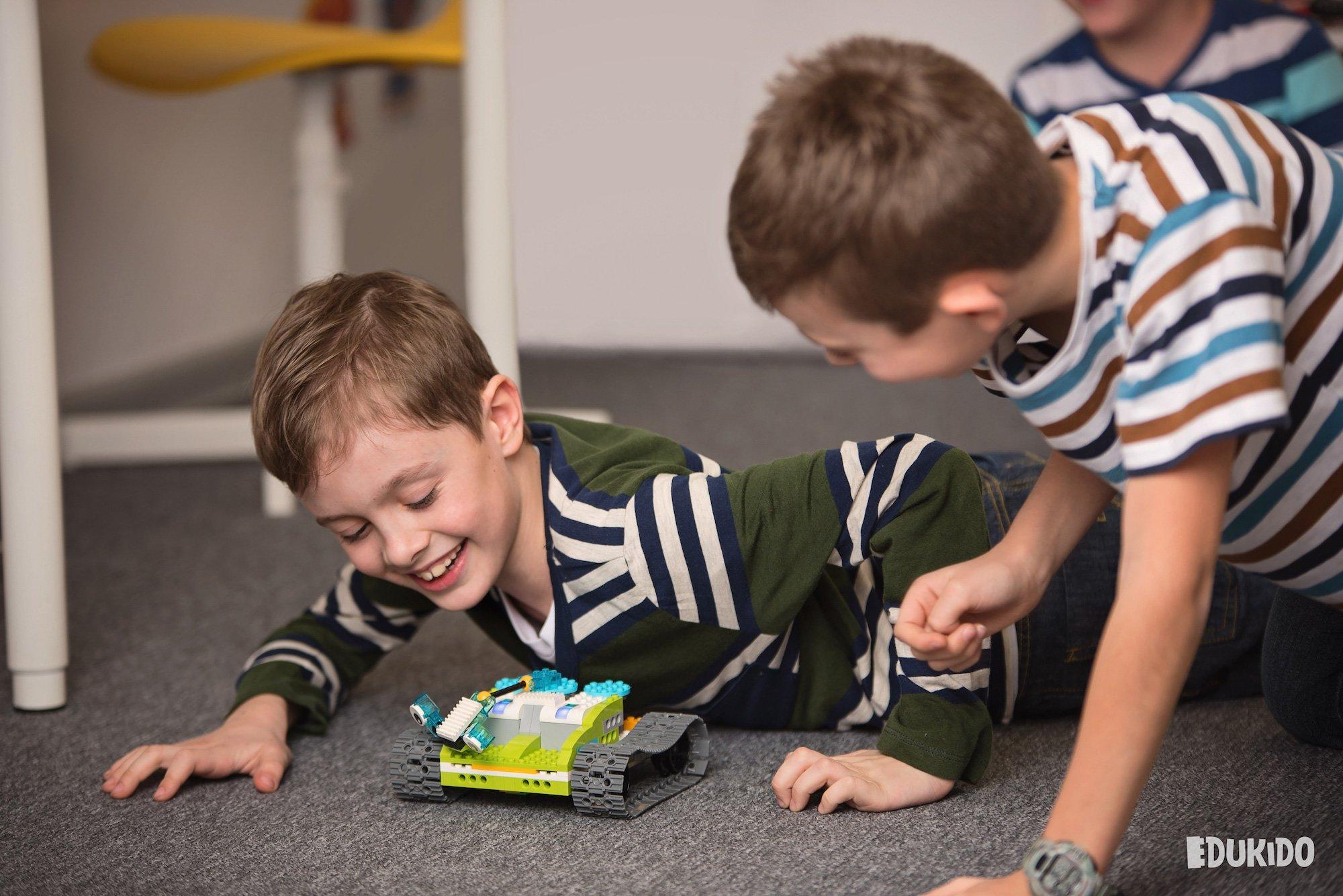 Ferie zimowe Edukido z klockami Lego® i robotyką