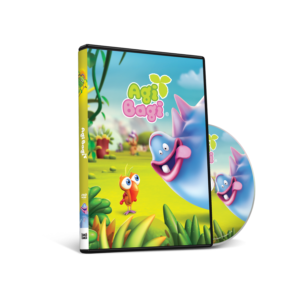 Agi Bagi płyta DVD w 3 sezonem
