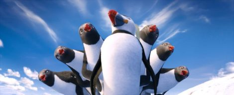 happy feet 2 chór pingwinów