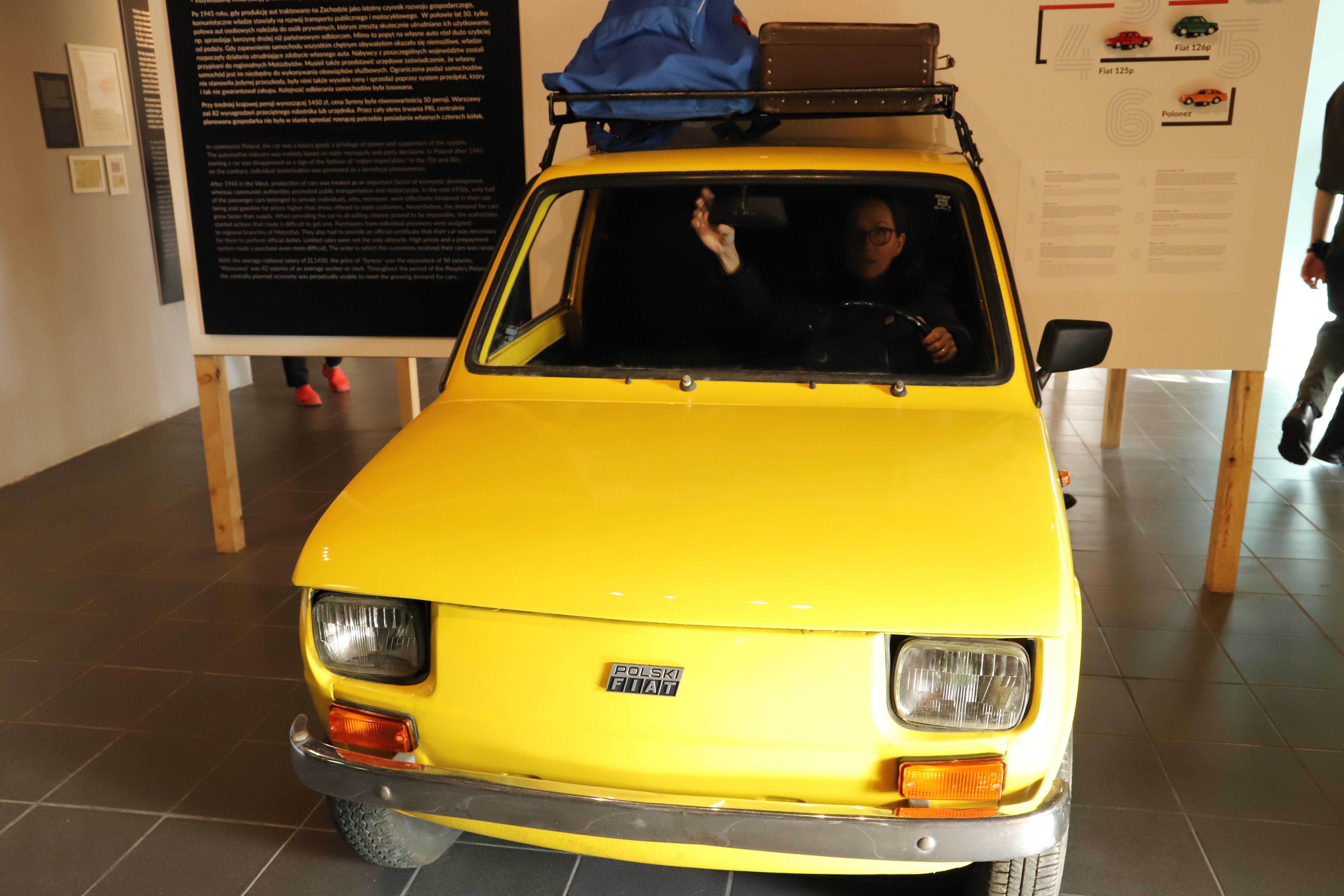 fiat 126 pWarszawskie Muzea - atrakcje dla dzieci