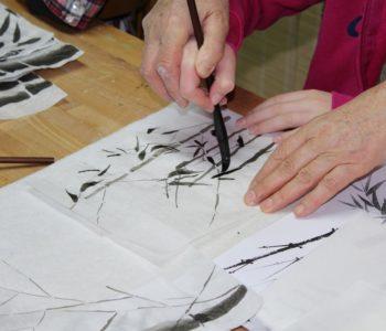 Suibokuga – warsztaty malarstwa japońskiego