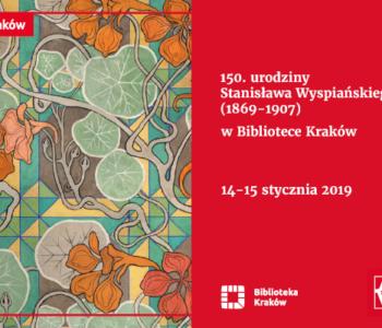 urodziny Stanisława Wyspiańskiego w Bibliotece Kraków