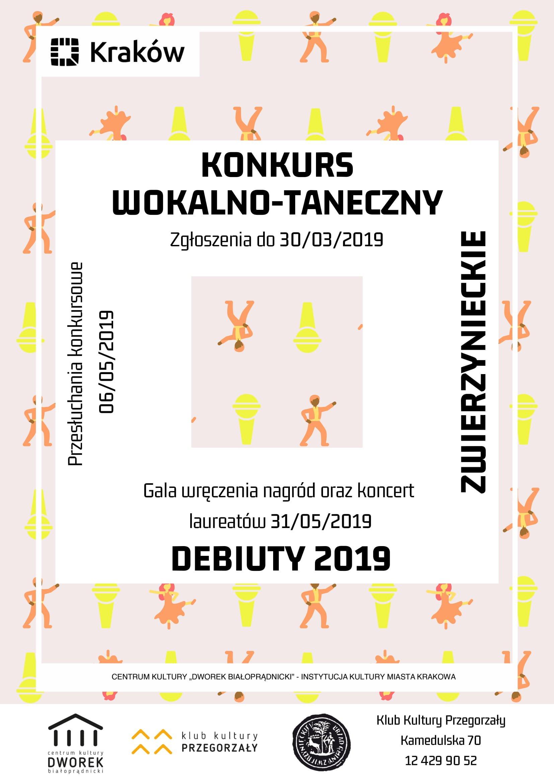 Konkurs wokalno-taneczny Zwierzynieckie Debiuty 2019