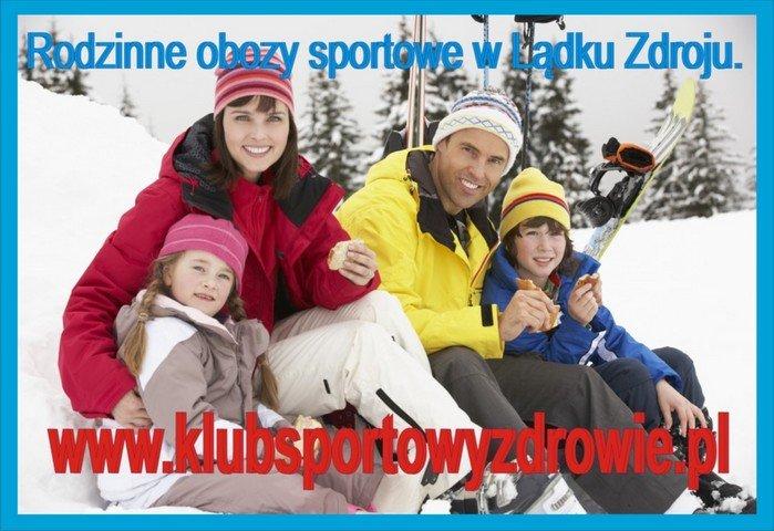 Rodzinny zimowy obóz narciarski