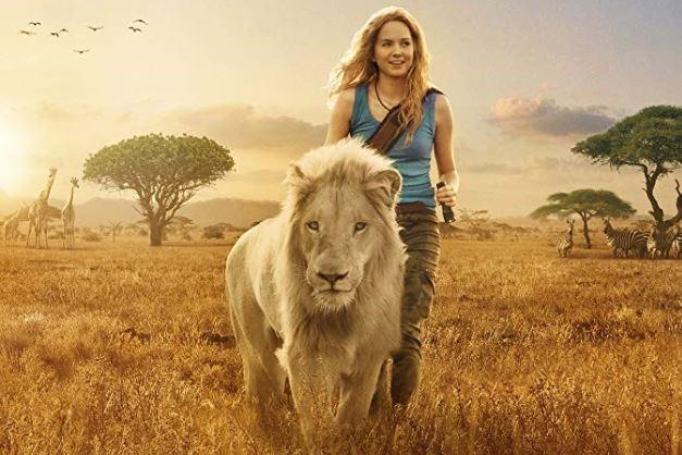 mia i biąły lew
