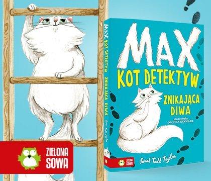 Max. Kot detektyw. Znikająca diwa