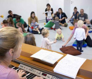 My tu gramy – warsztaty teatralno-muzyczne dla dzieci od 1. miesiąca do 3. roku życia