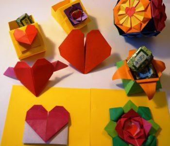 Origami walentynkowe