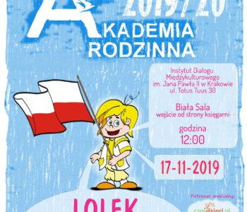 Akademia Rodzinna – Lolek wielki patriota
