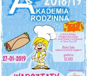 Akademia Rodzinna – Kuchnia papieska i warsztaty kulinarne