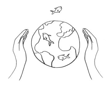 Chrońmy Ziemię i  wodę na Ziemi