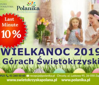 Wielkanoc 2019 w Górach Świętokrzyskich