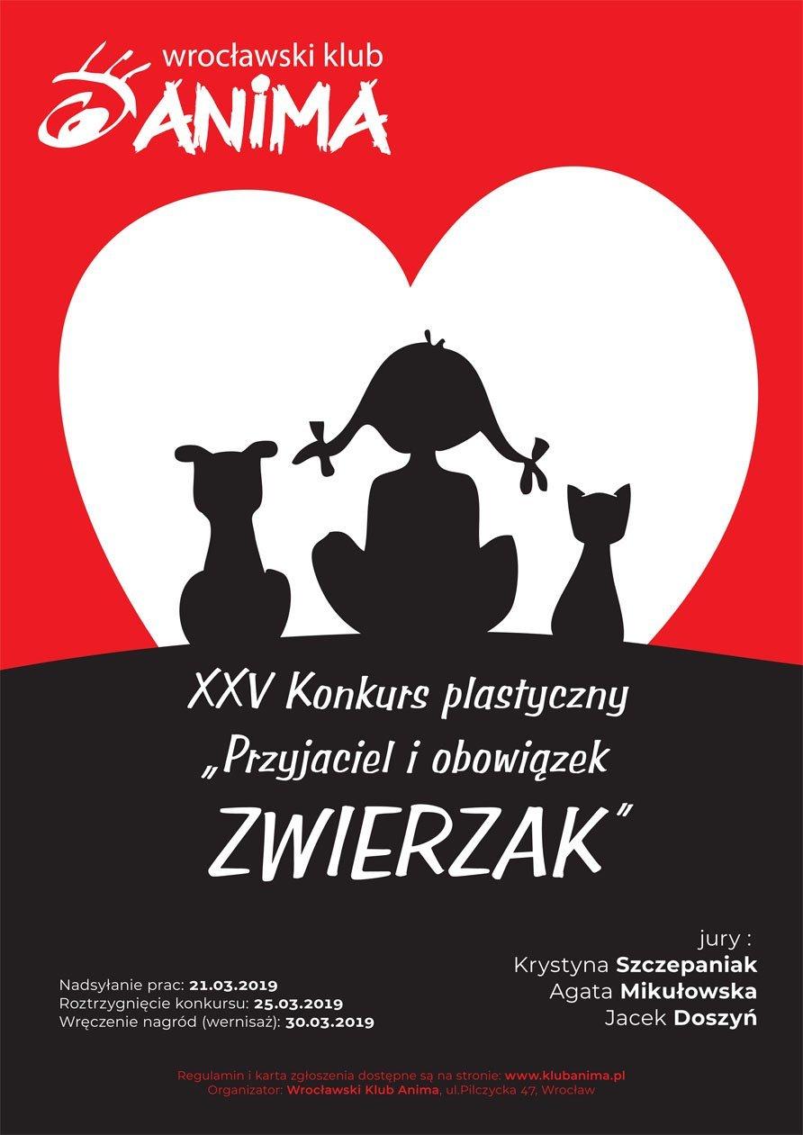 XXV. Konkurs Plastyczny pt. Przyjaciel i obowiązek - Zwierzak