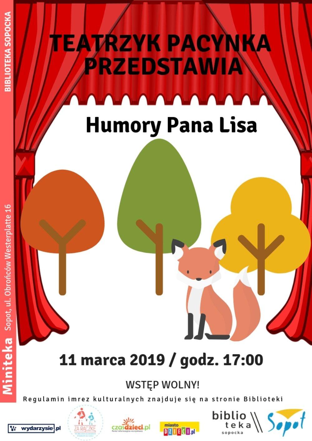 Teatrzyk Pacynka: Humory Pana Lisa