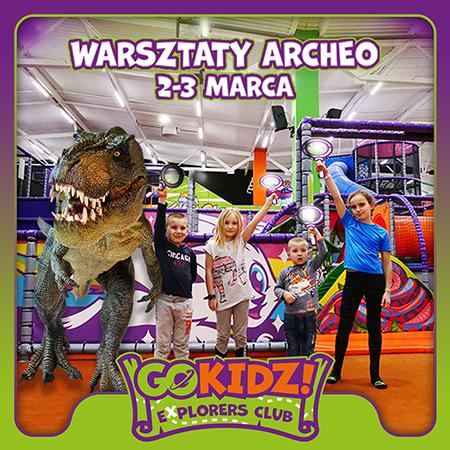 Warsztaty Archeo - GOkidz! Explorers Club