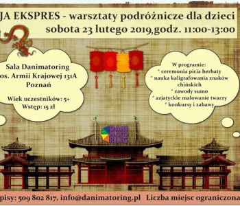 Azja Ekspres – warsztaty podróżnicze dla dzieci
