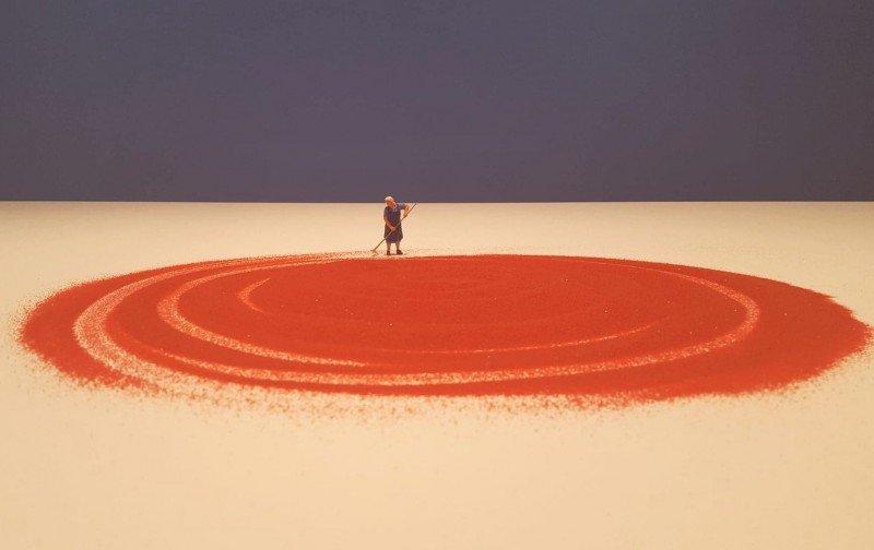 Miniaturowe światy. Warsztaty rodzinne towarzyszące wystawie Liliany Porter