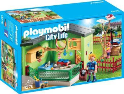 playmobil hotel dla kotów zestaw