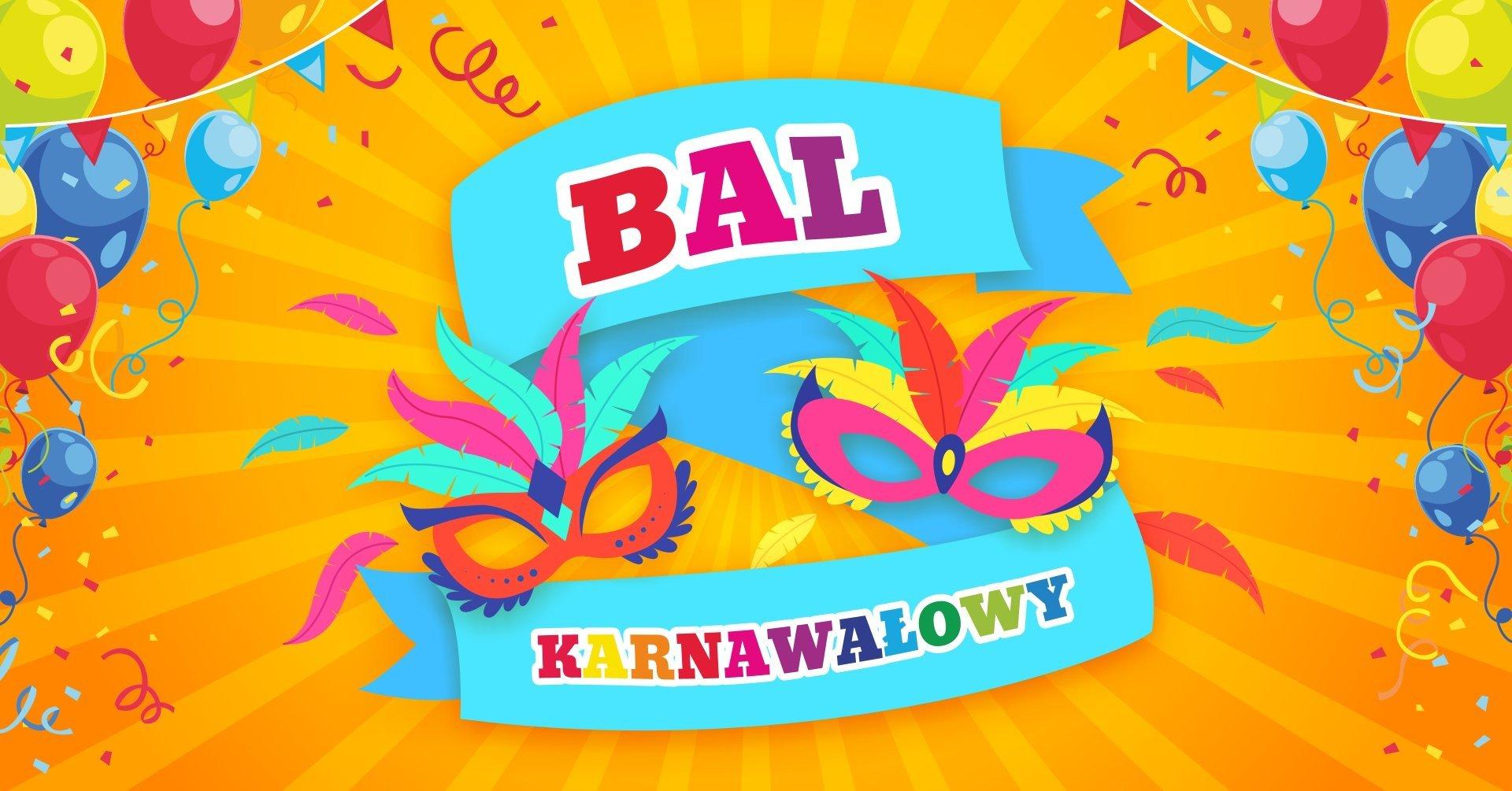 Bal karnawałowy w sali zabaw dla dzieci